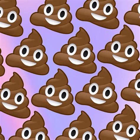 poop emoji wallpaper emoji wallpaper uploaded by ashley on we heart it