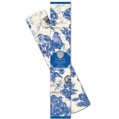 michel design works home fragrance diffuser indigo cotton michel design works drawer liners indigo cotton