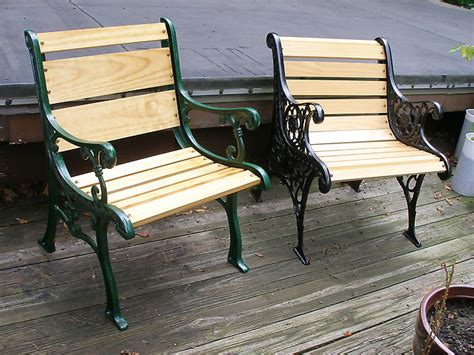 park bench ends general gt repurposed park bench ends