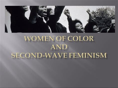 of color feminism the other second wave of color