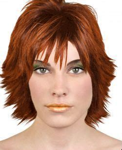 try on hairstyles using your own photo quot coral look with red hair quot created using taaz virtual