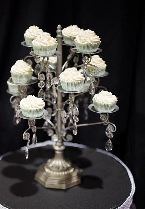 Diy Chandelier Cake Stand Chandelier Cupcake Stand Diy Home