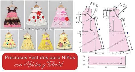 moldes vestidos nina preciosos vestidos para ni 241 as con moldes y tutorial