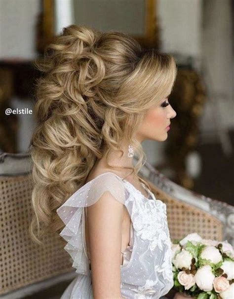 wedding hairstyles down pinterest 45 most romantic wedding hairstyles for long hair updo