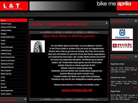 Aprilia H Ndler Nrw Motorrad by Lansing Terbrack Gmbh Co Kg In Vreden Motorradh 228 Ndler