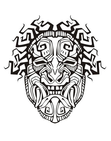 mayans amp incas coloring pages for adults coloring