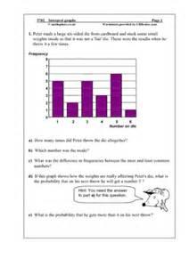 Urbrainy maths worksheets year 5 age 9 10 statistics handling data
