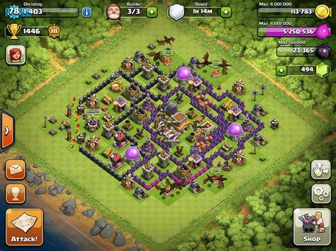 layout for town hall 8 top 10 clash of clans town hall level 8 defense base design