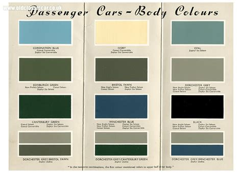 1950 ford paint color chart pictures to pin on pinsdaddy