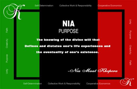 kwanzaa day 5 nia purpose thyblackman