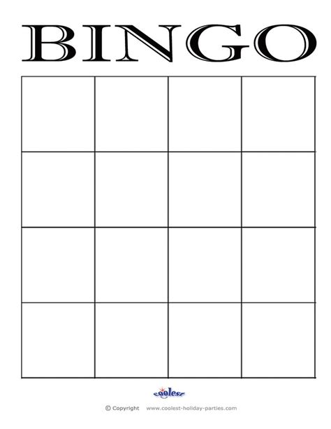 bingo cards templates 25 best ideas about bingo card template on