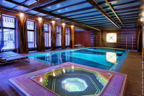 indoor pool lighting interior design ideas