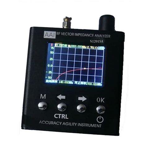 vector signal analyzer tutorial n1201sa uv rf vector impedance ant swr antenna analyzer
