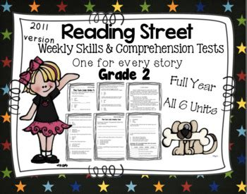 reading comprehension tests vary in the skills they assess weekly skills vocabulary and comprehension tests