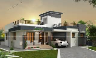from home contemporary single storey box type home