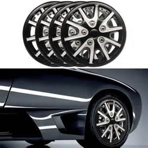 Car Wheel Covers 4pcs Car Hubcaps Rims Wheel Covers Hub Cap Decorative 14
