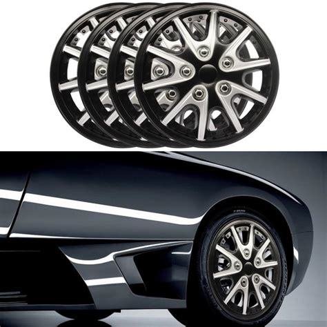 Decorative Wheel Covers by 4pcs Car Hubcaps Rims Wheel Covers Hub Cap Decorative 14