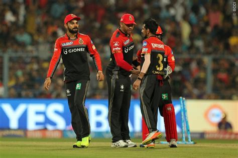 ipl rcb team in 2017 ipl 2017 rcb s sensational collapse against kkr