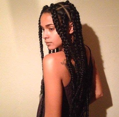 chunky box braids 42 chunky cool jumbo box braids styles in every length