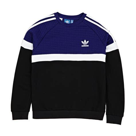 Sweatshirt Adidas 1 adidas originals junior trf fleece sweatshirt mystery ink f17 white black free delivery options