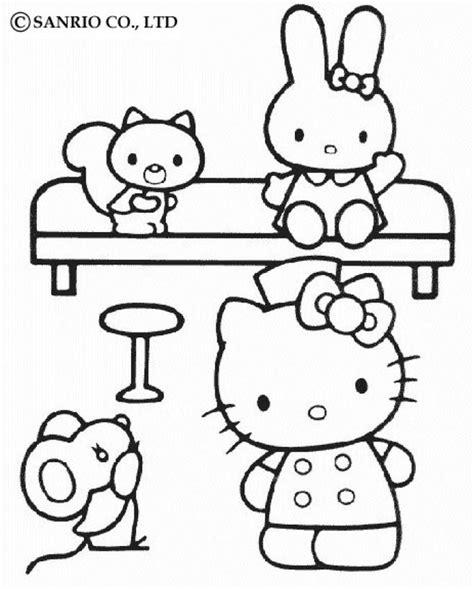 imagenes de hello kitty y melody dibujos para colorear hello kitty y sus amigos es