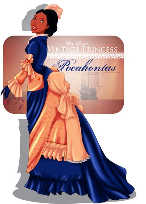 Boneka Disney Princess Pocahontas vintage princess pocahontas by selinmarsou on deviantart