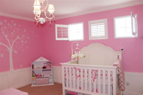 pink nursery ideas traditional nursery benjamin blushing and carnation