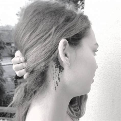 small tattoos for behind the ear pictures small meaningful ear tattoos pictures www