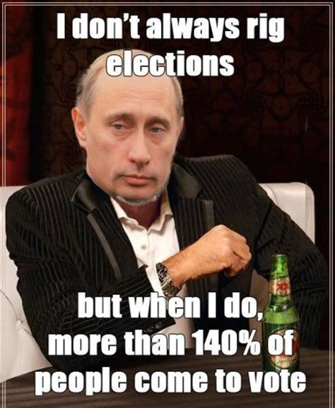 White Russian Meme - 22 putin memes that are illegal in russia funny gallery