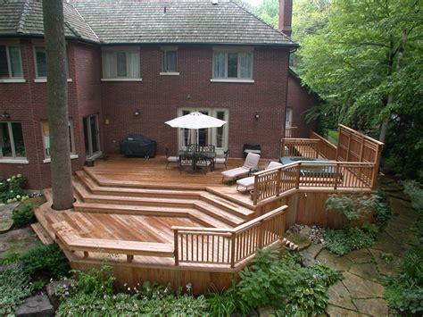 different deck designs deck stunning ground level deck plans for inspiring