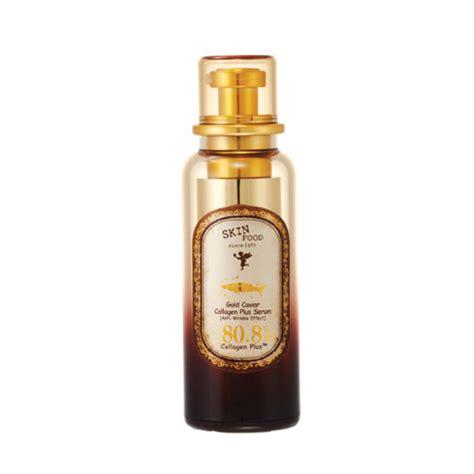Serum Gold Korea skinfood gold caviar collagen plus serum skin food essence