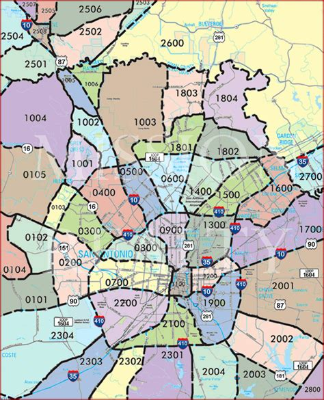 zip code map of san antonio boerne tx zip code map zip code map