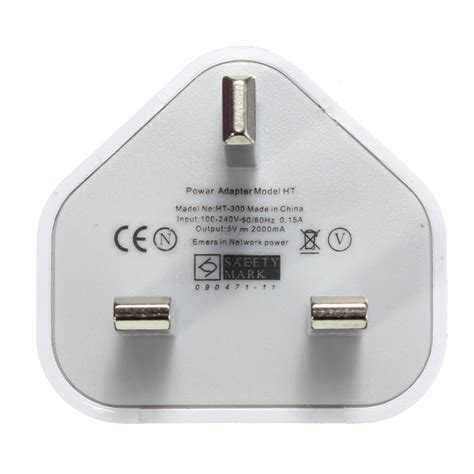 Adaptor Charger Iphone uk home wall 3 pin usb power adaptor charger for iphone 6s plus cellphone tablet alex nld