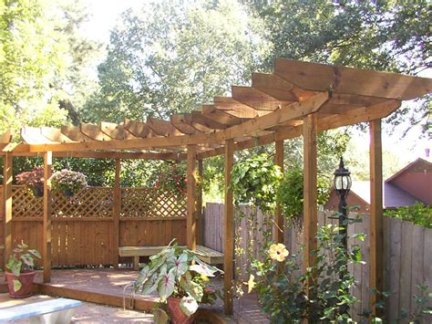 Arbor Backyard by Dreamhaus53 Pergola Arbor Lattices