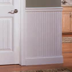 Bead Wainscoting White Beadboard Panel 28 5 Quot X 48 Quot I Elite Trimworks