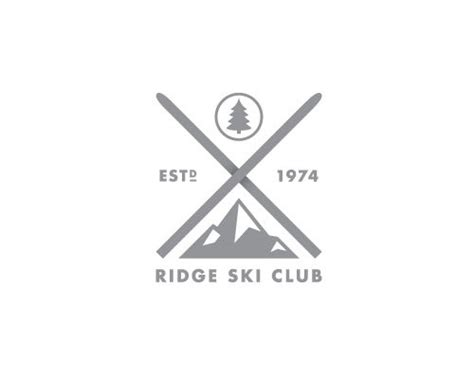 hipster tattoo logo your ski club is not hardcore hipster logo creative