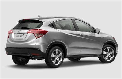 Hrv E Cvt 2015 Silver by 2017 Honda Hr V Colors And Interior Design