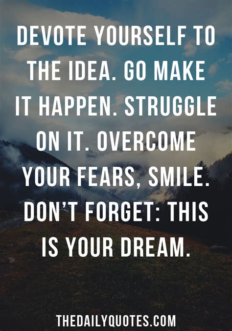 dream motivational quotes quotesgram