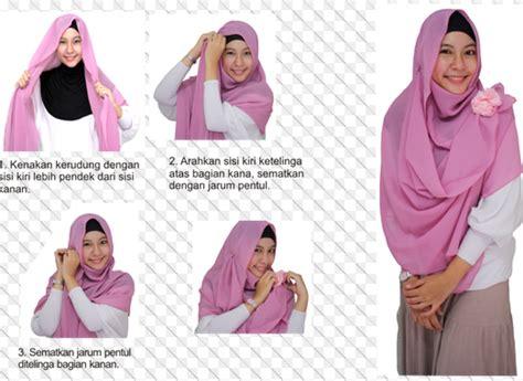 tutorial hijab syar i for wedding gambar tutorial hijab modern syar i