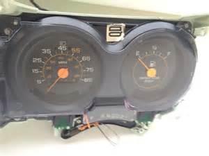 instrument cluster chevy gmc truck silverado 85 86 diesel