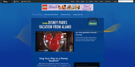 Disney Vacation Sweepstakes - disney com iwannadisneyvacationsweeps disney i wanna disney parks vacation sweepstakes