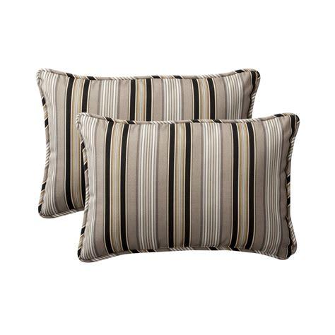 Rectangular Sofa Pillows by Pillow Striped Rectangular Throw Pillow Set Of 2