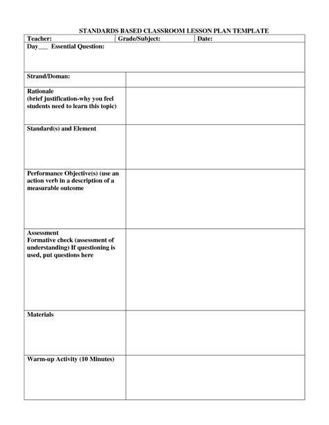 co teaching lesson plan templates 69 infantry