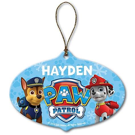 nickelodeon paw patrol chase and marshall christmas