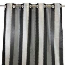 rideaux rayures gris blanc achat vente rideaux rayures