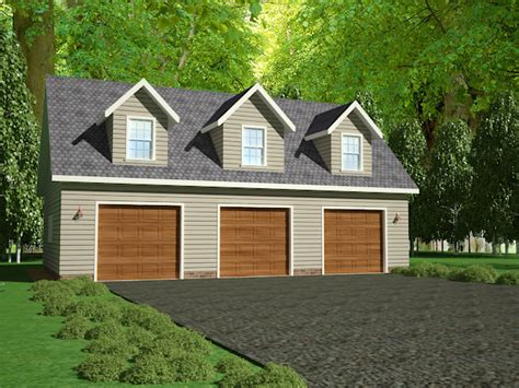 3 Car Garage Plans With Bonus Room by G445 Plans 48 X28 X 10 Detached Garage Plans With Bonus