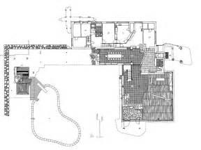 Floor Plan Stairs Villa Mairea Alvar Aalto Archeyes