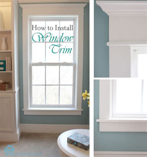 How To Replace Door Trim by How To Install Window Trim Pretty Handy