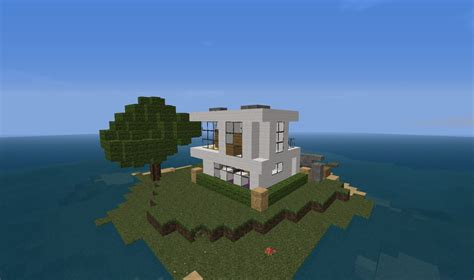 house on an island small modern house on an island minecraft project