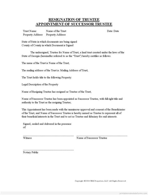family trust template 900 best images about printable template form on